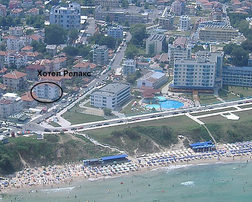 Семеен хотел Релакс Приморско