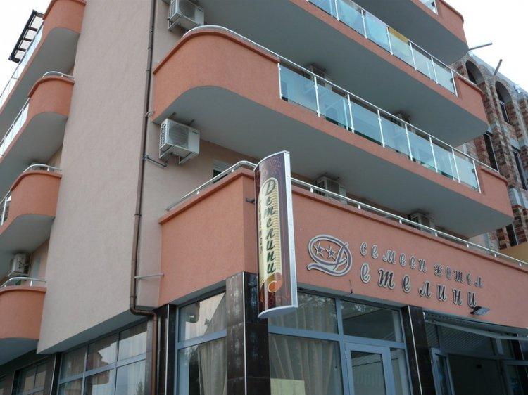 Семеен хотел Детелини Приморско
